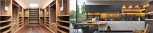 Instalación de mobiliario comercial en Residencias, Hoteles, Cafeterias