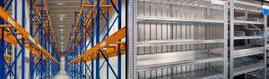 Instalaciones en almacenes de grande y pequeña escala