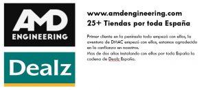 Trabajamos con Dealz España y AMD Engineering